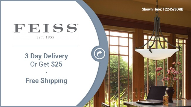 Shop Feiss - 3 day business delivery
