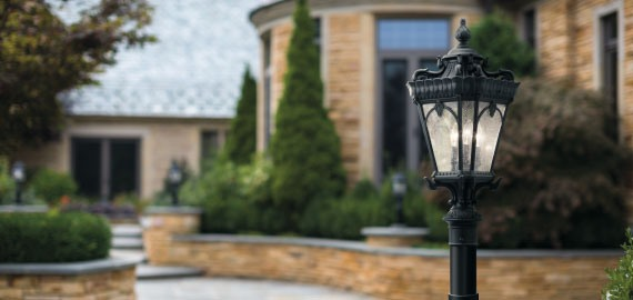 light top bollard antique standard post lighting lights outdoor driveway bronze period medium elsternwick