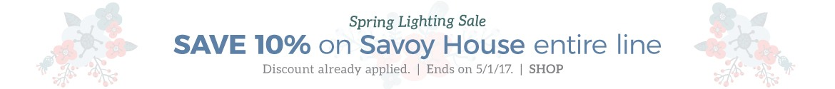 15% OFF Savoy House