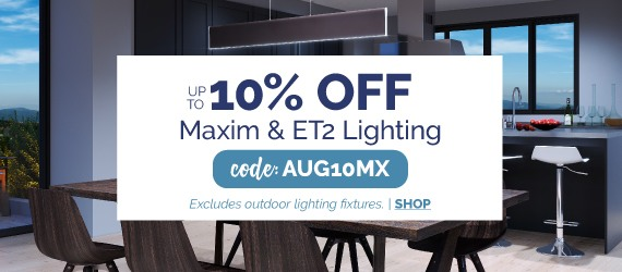 Save on Maxim and ET2 Lighting