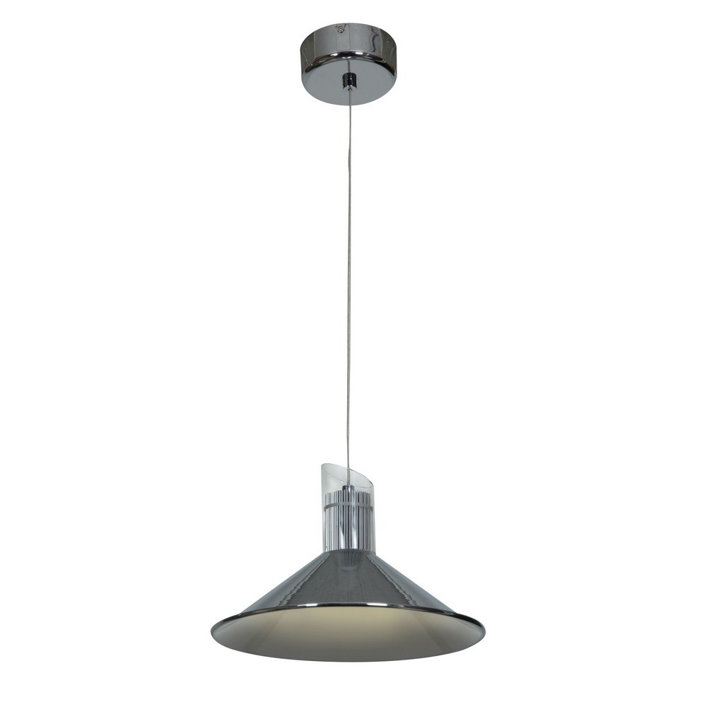 Access Lighting-70031LED-CH/CLR-Pulse - 10 Inch LED Sphere Pendant  Chrome Finish with Clear Glass