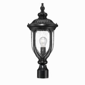 Acclaim Lighting 2217BK Laurens - One Light Post Lantern