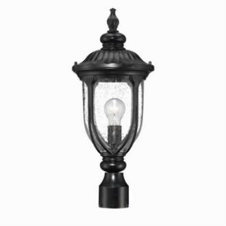 Acclaim Lighting 2217BK Laurens - One Light Post Lantern