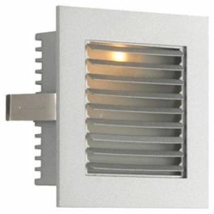 One Step Light with Louvered Faceplate