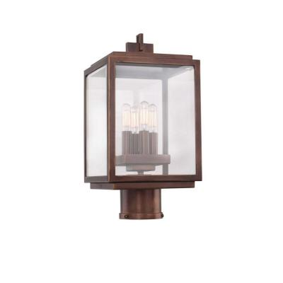 Allegri Lighting 403800 Chester  - Four Light Outdoor Large Pier/Post Mount