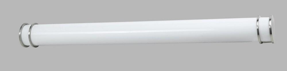 Cal Lighting-LA-197L-BS-Vanity Bathroom Lighting Fixture  Brushed Steel Finish