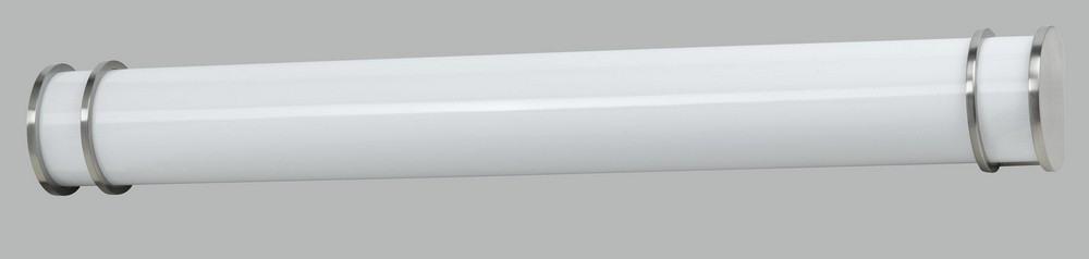 Cal Lighting-LA-197M-BS-Vanity Bathroom Lighting Fixture  Brushed Steel Finish