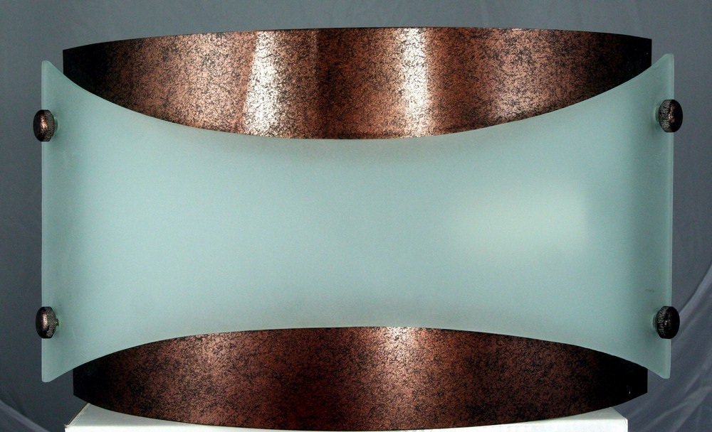Cal Lighting-LA-164-RU-Elizabethe - One Light Wall Sconce  Rust Finish