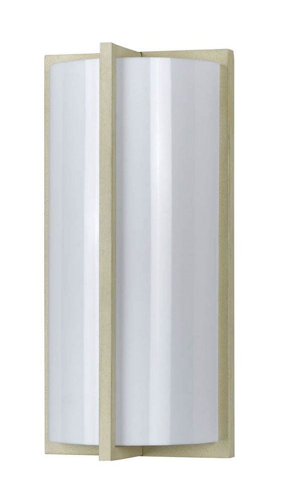 Cal Lighting-LA-177-BE-Elizabethe - One Light Wall Sconce  Beige Finish