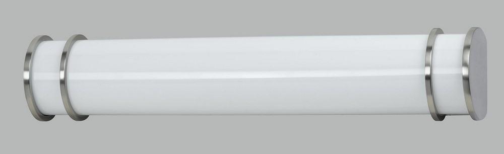 Cal Lighting-LA-197S-BS-Elizabethe - Two Light Small Bath Vanity  Brushed Steel Finish