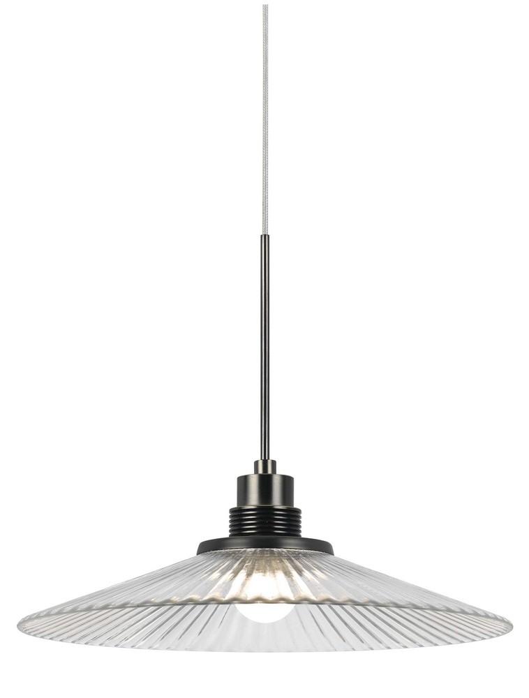 Cal Lighting-UPL-715-CLR-LED Pendant  Clear Finish