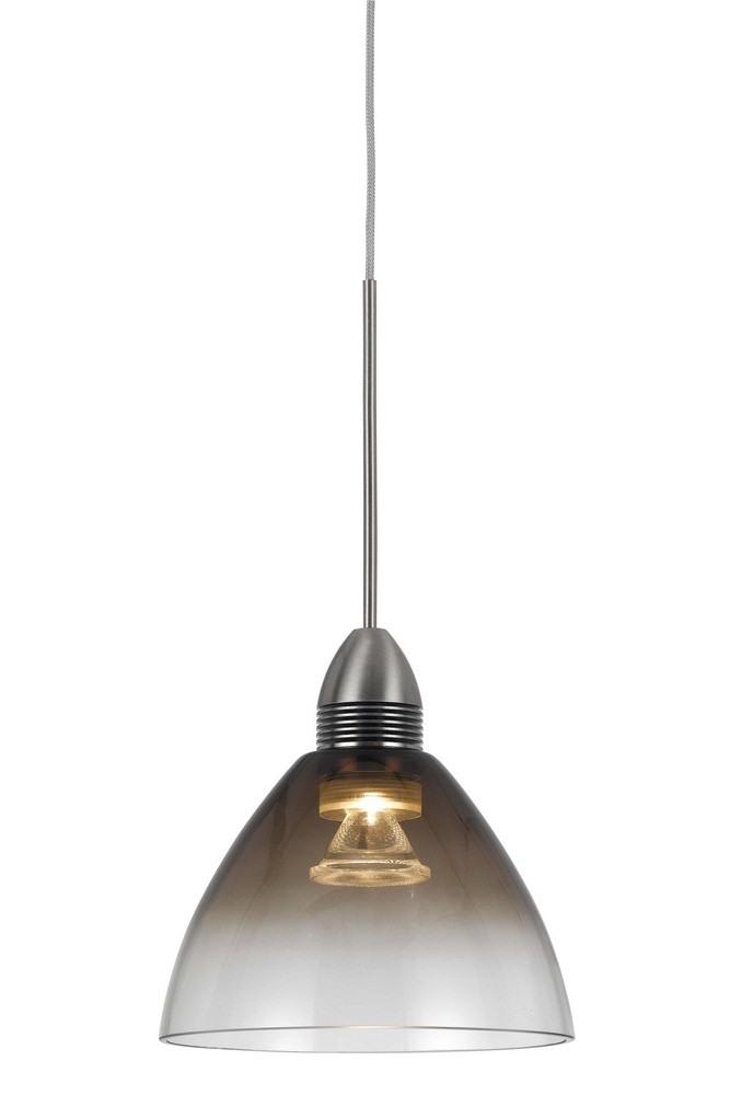 Cal Lighting-UPL-716-SM-LED Pendant  Smoke Finish