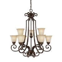 Barclay Nine Light Chandelier 91 - 198