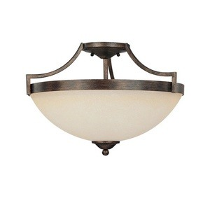 Capital Lighting - 4024RT-MS - Towne & Country - Three Light Semi-Flush Mount