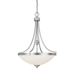 Capital Lighting - 4027MN - Towne & Country - Three Light Pendant