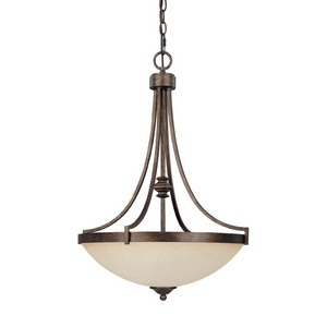 Capital Lighting - 4027RT-MS - Towne & Country - Three Light Pendant