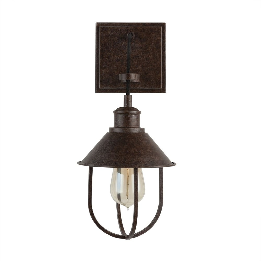 Capital Lighting-630811MI-Pawley - 1 Light Wall Sconce  Mineral Brown Finish