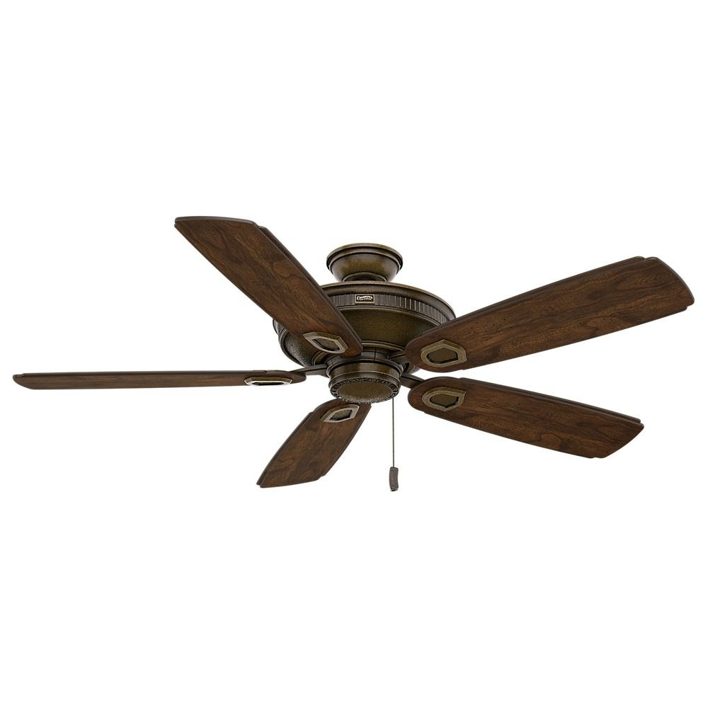 Casablanca Fans-59527-Heritage 5 Blade 60 Inch Ceiling Fan  Aged Bronze Finish with Reclaimed Antique Blade Finish