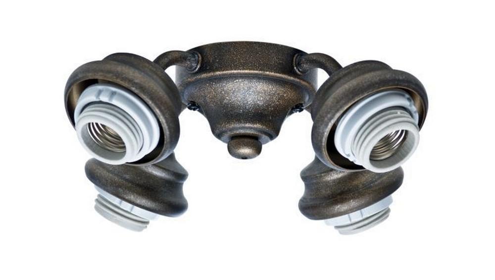 Casablanca Fans-99034-Accessory - Four Light Arm Fitter  Aged Bronze Finish
