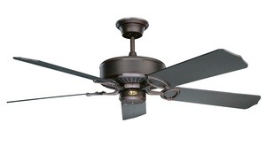 Concord Fans-52MA5ORB-Madison - 52 Inch Ceiling Fan  Oil Rubbed Bronze Finish with Oil Rubbed Bronze Blade Finish