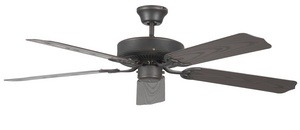 Concord Fans-52POR5ORB-Porch - 52 Inch Ceiling Fan  Oil Rubbed Bronze Finish with Weathered Bronze Blade Finish