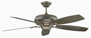 Concord Fans-60RS5ORB-Roosevelt - 60 Inch Ceiling Fan  Oil Rubbed Bronze Finish with Oil Rubbed Bronze Blade Finish