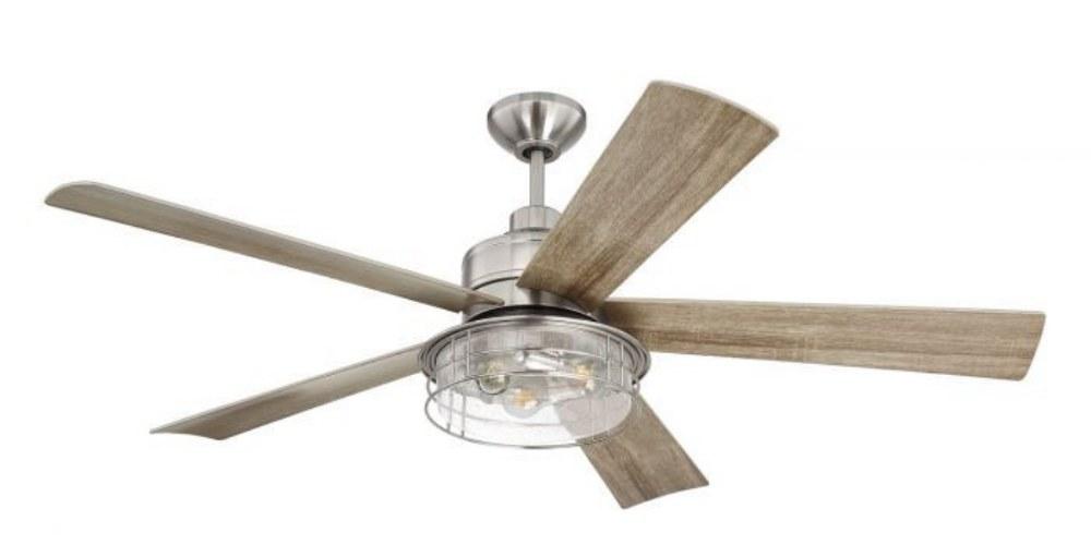 Craftmade Lighting Gar56 Garrick 56 Inch Ceiling Fan With Light Kit