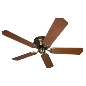 "Contemporary Flushmount - 52"" Ceiling Fan"