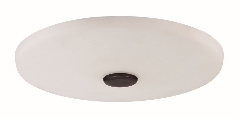Craftmade Lighting-LK104-ABZ-LED-Low Profile - 12 Inch LED Outdoor Light Kit  Aged Brushed Bronze Finish with Cased Frosted White Glass