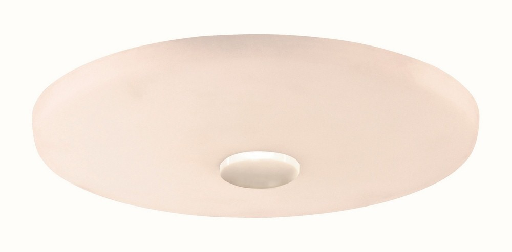 Craftmade Lighting-LK104-W-LED-Low Profile - 12 Inch LED Outdoor Light Kit  White Finish with Cased Frosted White Glass
