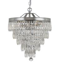 chloe three light mini chandelier