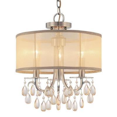 Crystorama Lighting 5623 Hampton - Three Light Chandelier