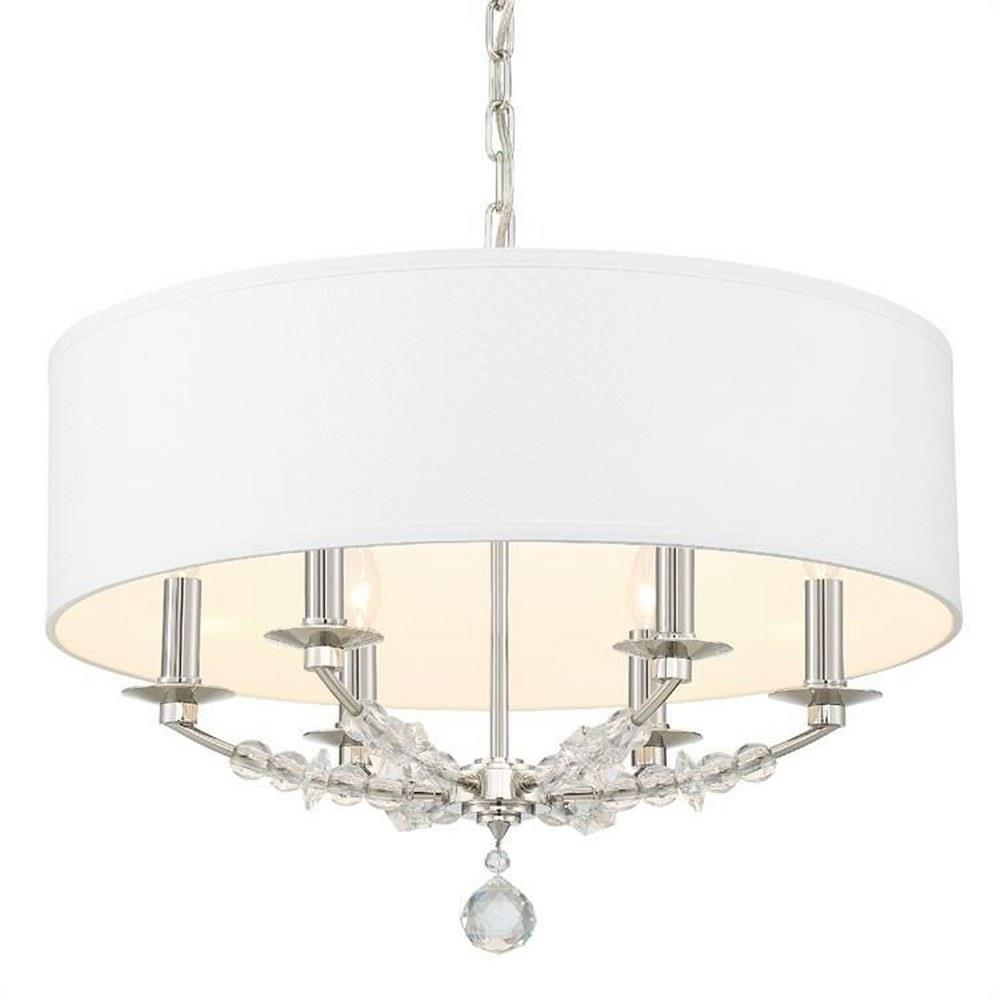 Crystorama Lighting 8016 Mirage 6 Light Chandelier