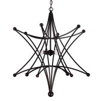 astro four light chandelier