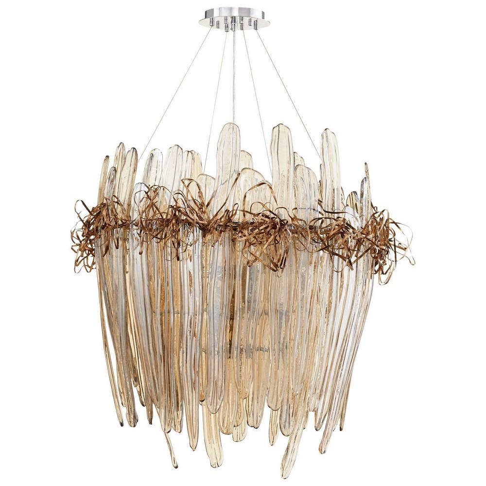 Cyan lighting 07986 thetis twelve light large chandelier aloadofball Image collections