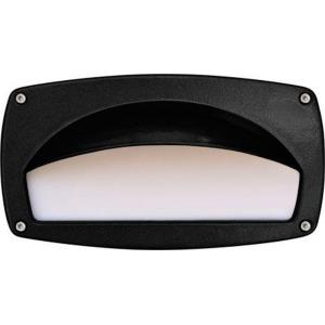 Recessed Hooded Step and Wall Light