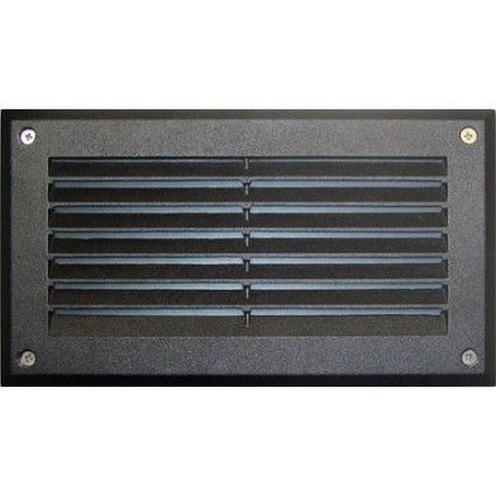 Images Dabmar Dsl1036 Outdoor Recessed Louver Step Light Cover Plate