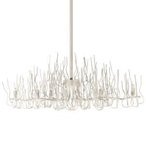 Sophora - Eight Light Twig Oval Chandelier
