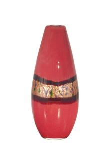 Dale Tiffany Lighting-PG60109-Rose Wine - 14.25 Inch Decorative Vase  Hand Blown Art Finish