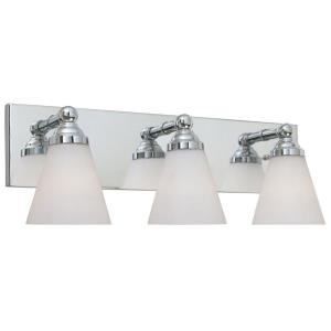 Hudson - Three Light Bath Bar