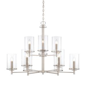 Harlowe - Nine Light Chandelier