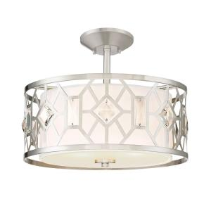 Brentwood - Two Light Semi-Flush Mount