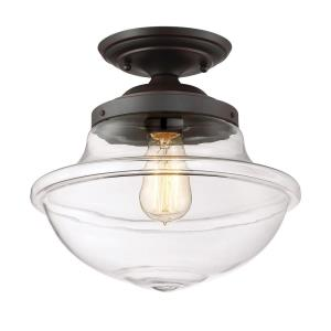 Foundry - One Light Semi-Flush Mount