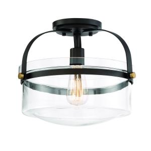 Jaxon - One Light Semi-Flush Mount