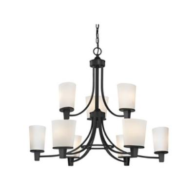 sc 1 st  1STOPlighting.com & Dolan Lighting - 1099-78 - Ellipse II - Nine Light 2-Tier Chandelier azcodes.com