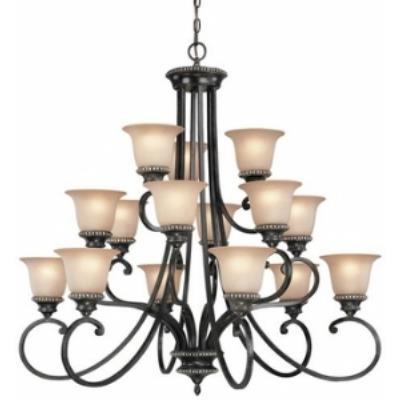 Dolan Lighting - 1753-148 - Hastings - Fifteen Light Three Tier Chandelier  sc 1 st  Dolan Designs & Dolan Lighting - 1753-148 - Hastings - Fifteen Light Three Tier ... azcodes.com