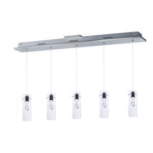 """Solitaire - 37.5"""" 15W 5 LED Pendant"""