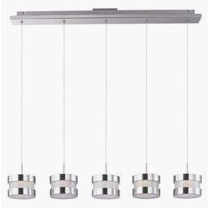 "Disco - 38"" 24W 5 LED Linear Round Pendant"