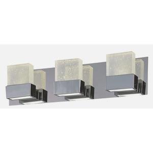 "Fizz III - 22"" 18W 3 LED Square Bath Vanity"