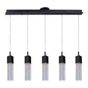 """Fizz III - 39"""" 37.5W 5 LED Linear Pendant"""